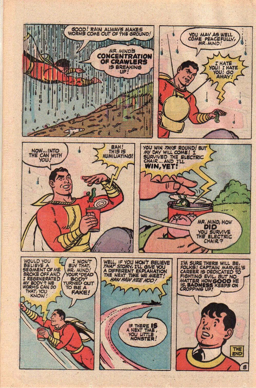 Read online Shazam! (1973) comic -  Issue #9 - 12
