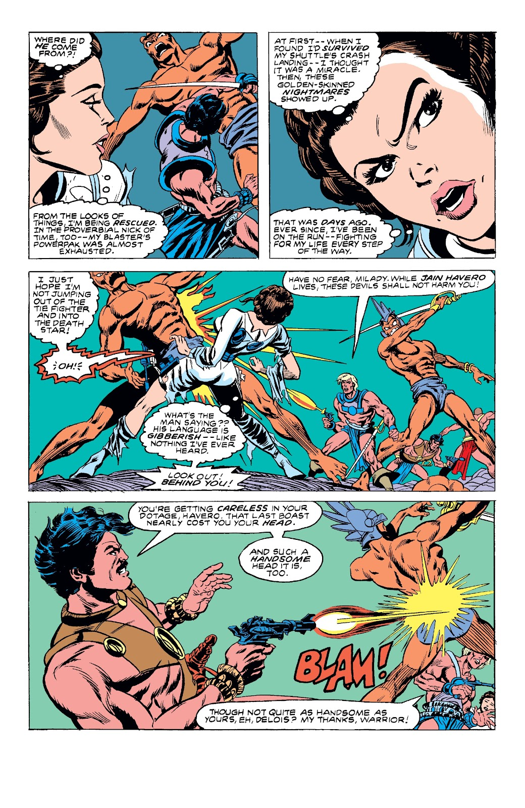 Read online Star Wars Legends: The Original Marvel Years - Epic Collection comic -  Issue # TPB 3 (Part 4) - 20