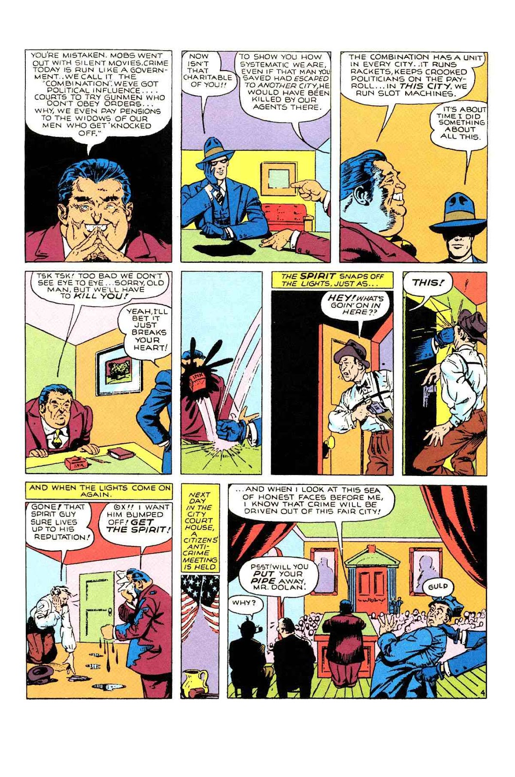 Read online Will Eisner's The Spirit Archives comic -  Issue # TPB 1 (Part 2) - 17