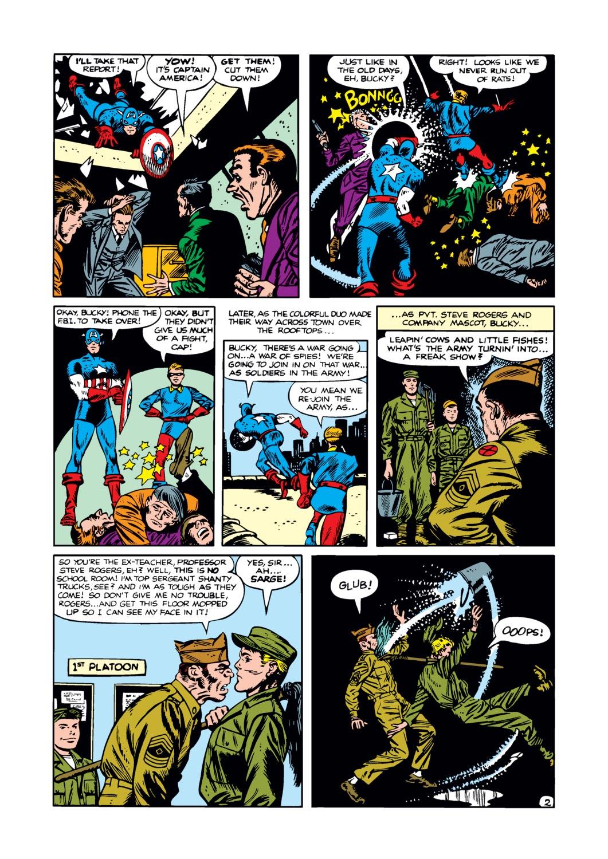 Captain America Comics 76 Page 2