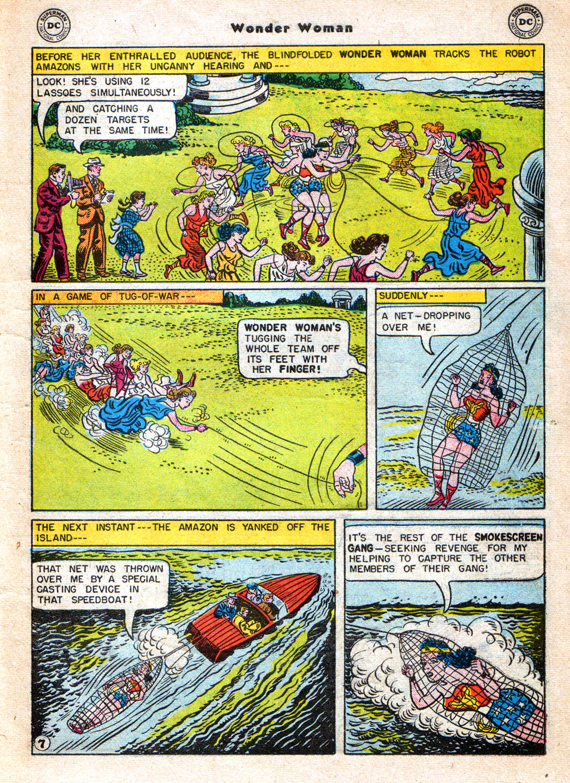 Read online Wonder Woman (1942) comic -  Issue #77 - 9