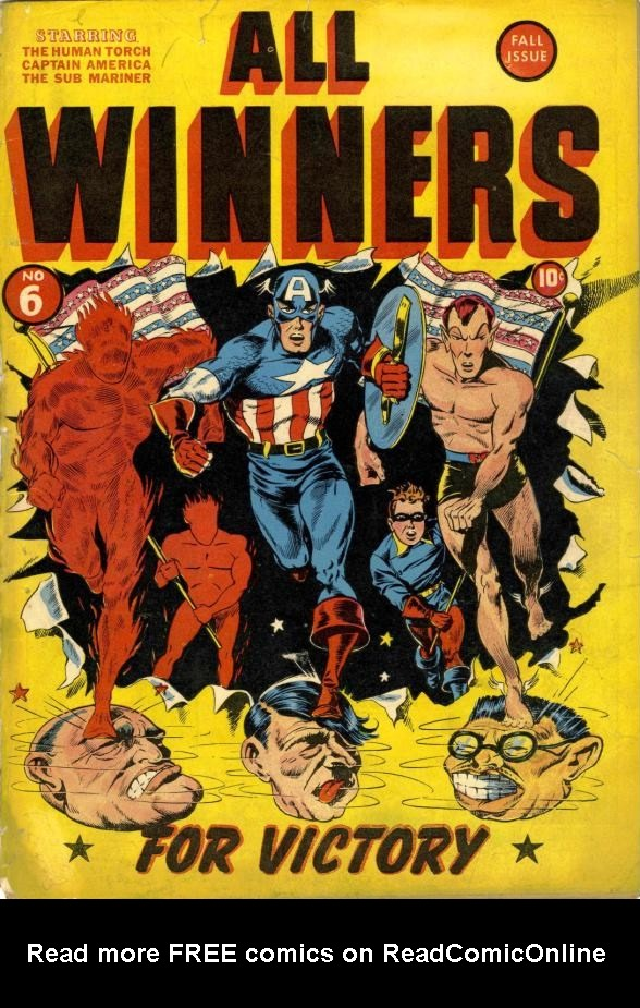 Read online All-Winners Comics comic -  Issue #6 - 1