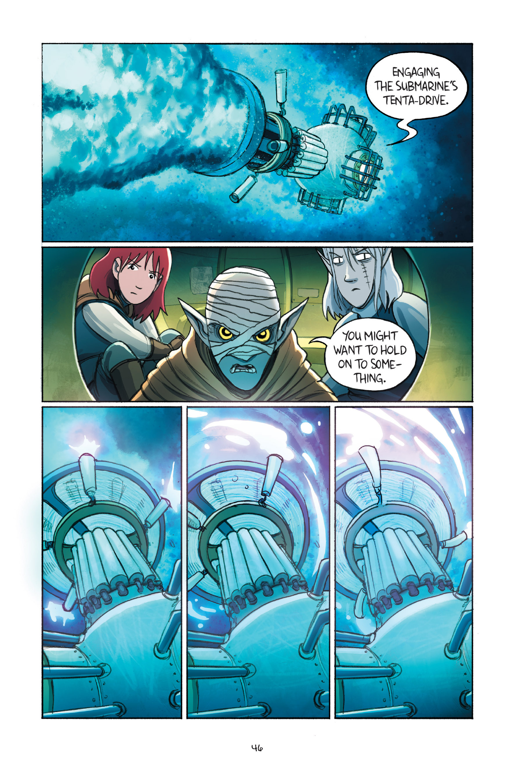 Read online Amulet comic -  Issue #7 - 49