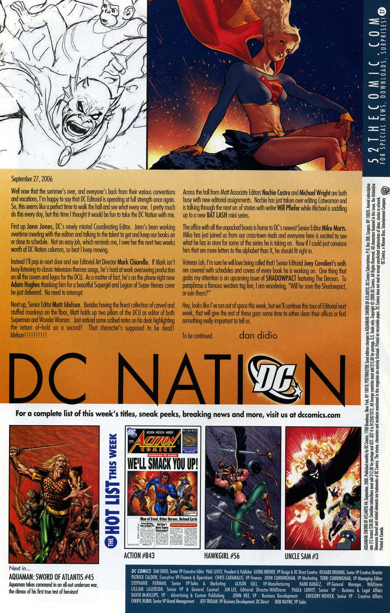 Read online Aquaman: Sword of Atlantis comic -  Issue #44 - 23