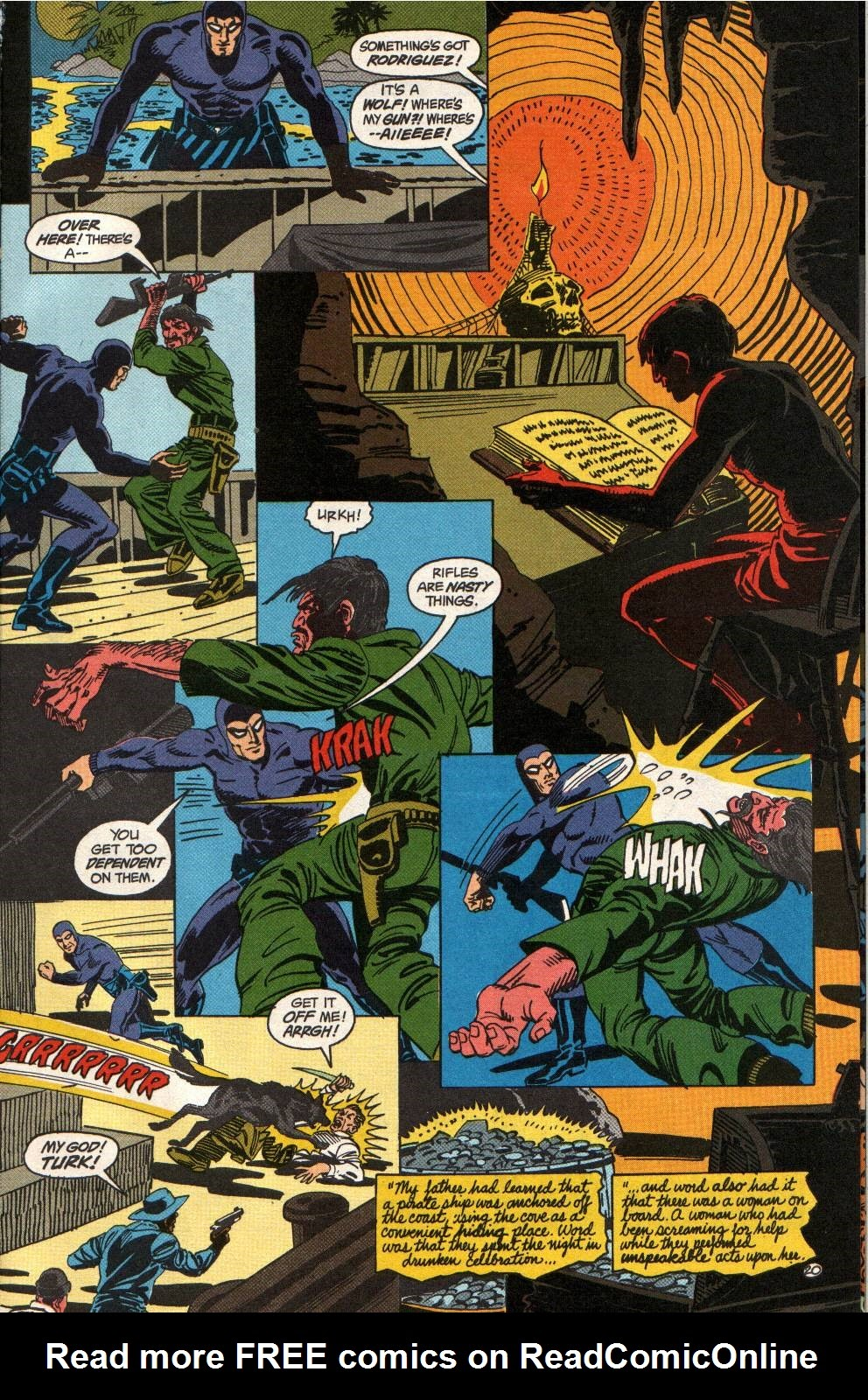 Read online The Phantom (1988) comic -  Issue #1 - 25