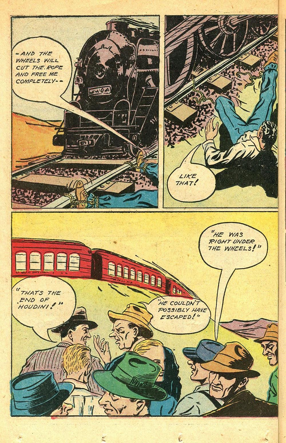 Read online Super-Magician Comics comic -  Issue #56 - 34