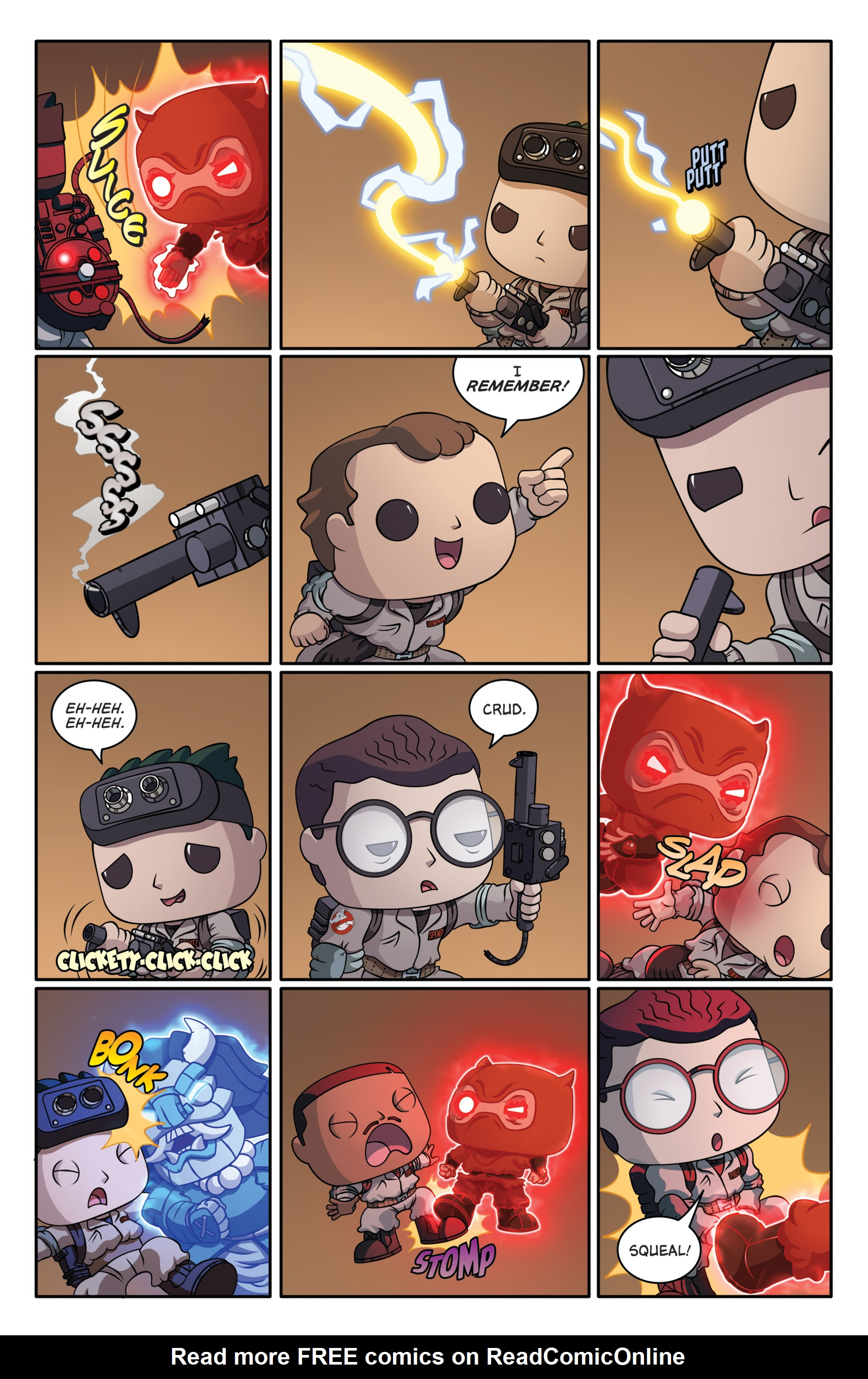 Read online Ghostbusters Funko Universe comic -  Issue # Full - 10