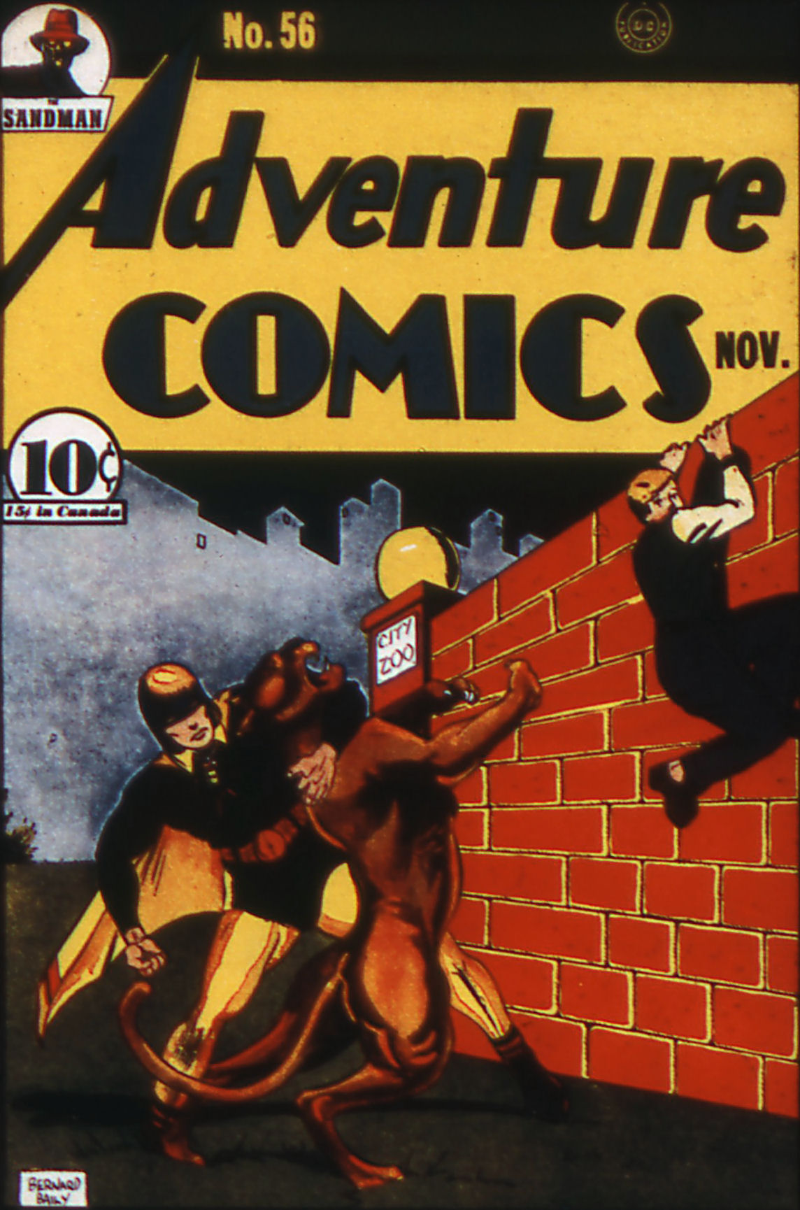 Read online Adventure Comics (1938) comic -  Issue #56 - 1