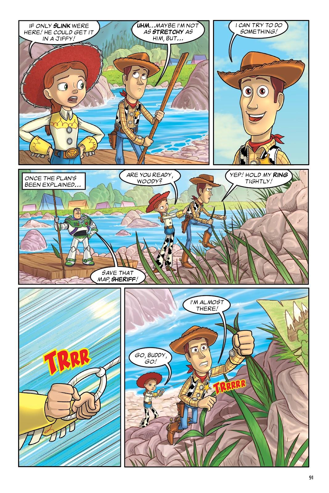 Read online DISNEY·PIXAR Toy Story Adventures comic -  Issue # TPB 1 (Part 1) - 91