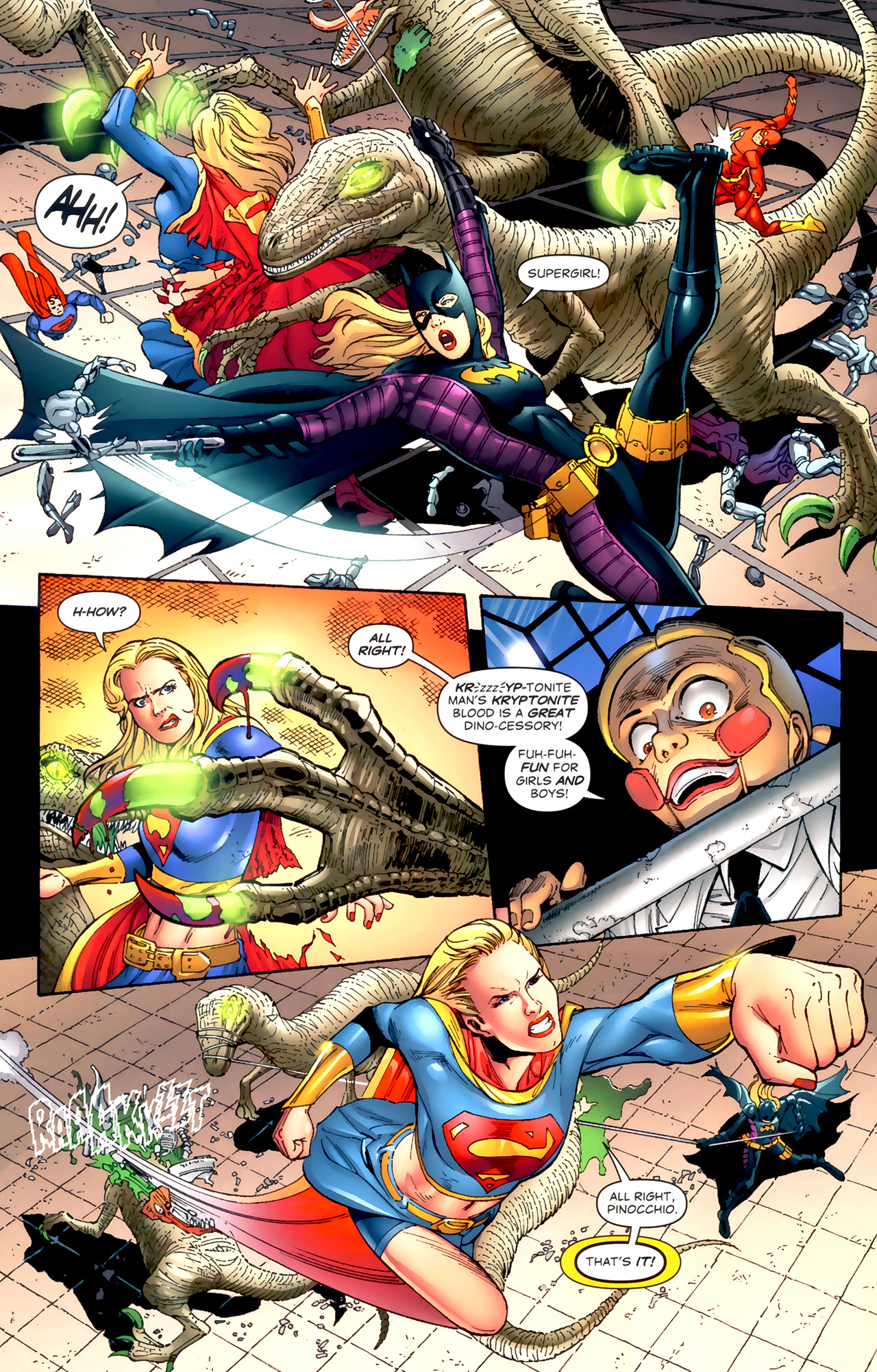 Read online World's Finest (2009) comic -  Issue #3 - 15