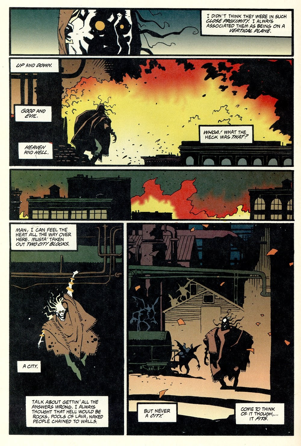 Read online Ted McKeever's Metropol comic -  Issue #11 - 24
