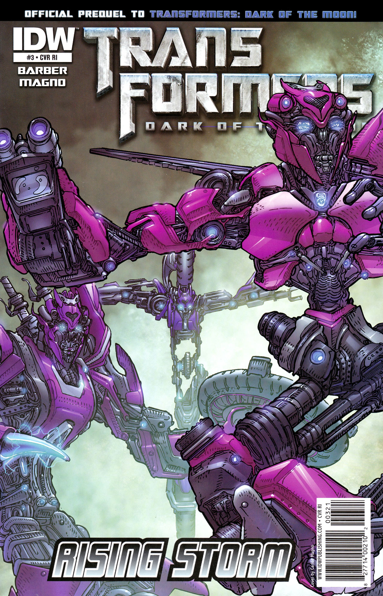 Read online Transformers: Dark of the Moon Rising Storm comic -  Issue #3 - 2