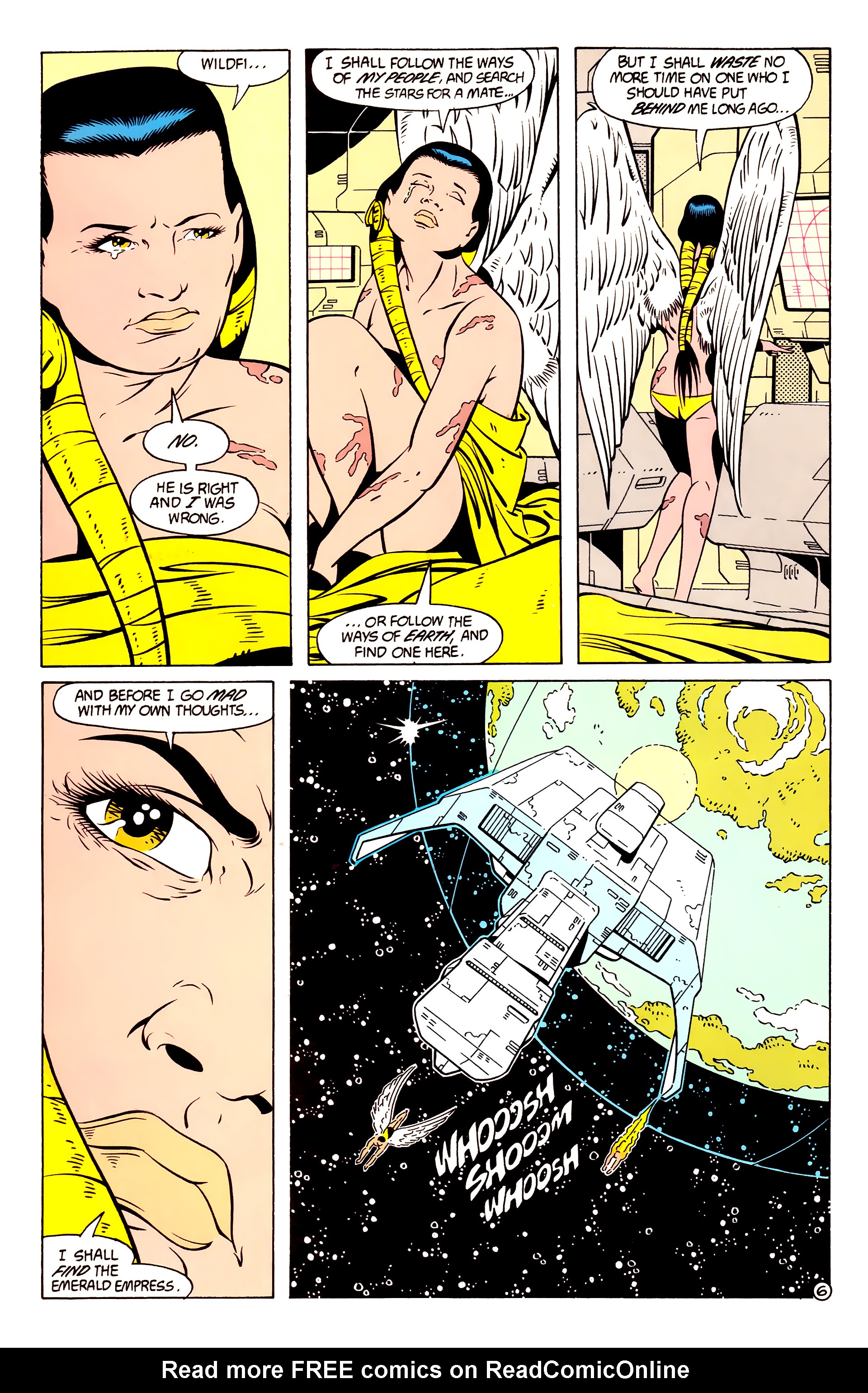 Legion of Super-Heroes (1984) 58 Page 6