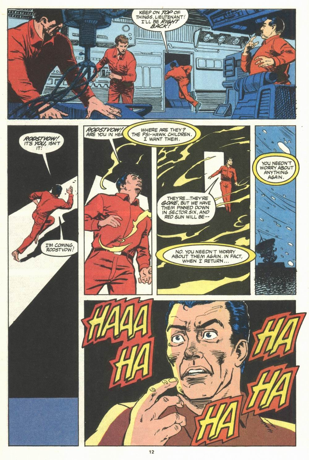 Read online Justice (1986) comic -  Issue #29 - 13