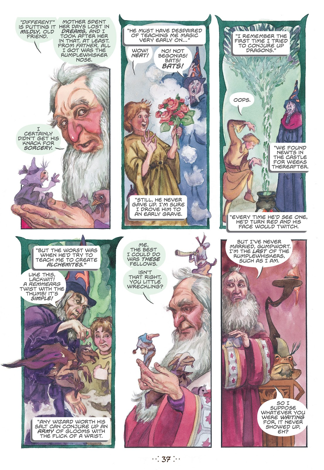Read online The Wizard's Tale comic -  Issue # TPB - 34