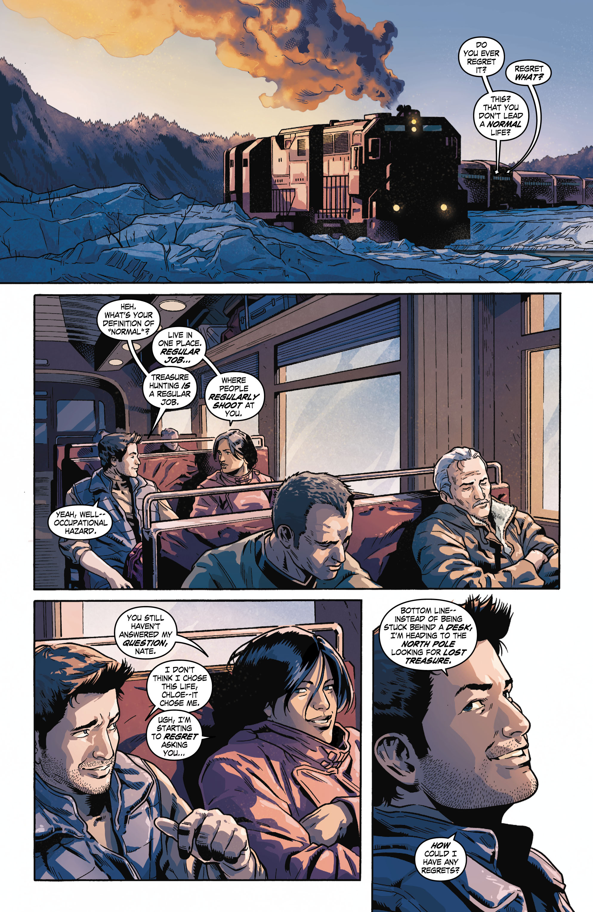 Read online Uncharted comic -  Issue #6 - 3