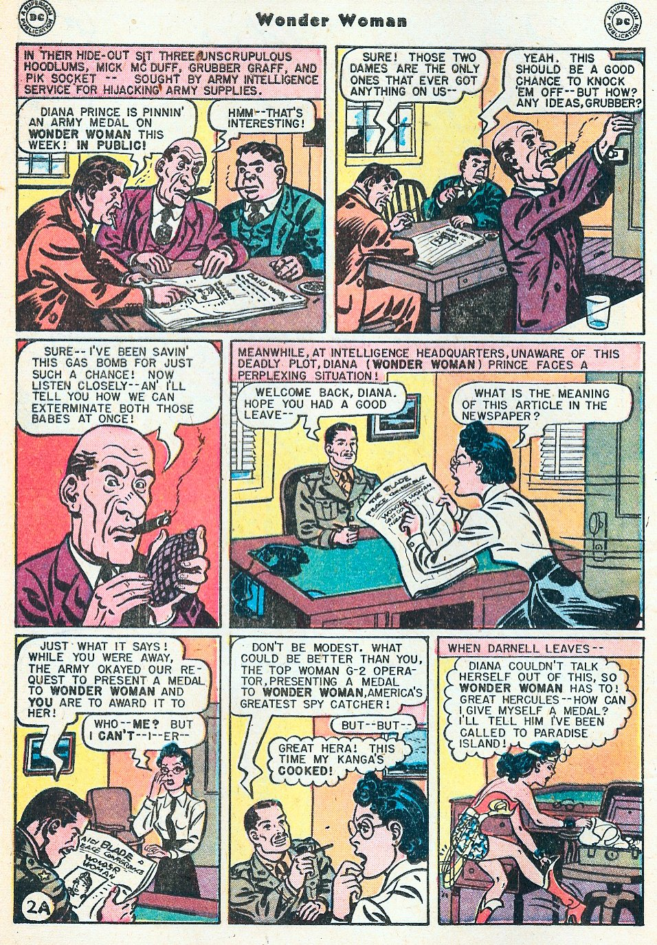 Read online Wonder Woman (1942) comic -  Issue #27 - 4
