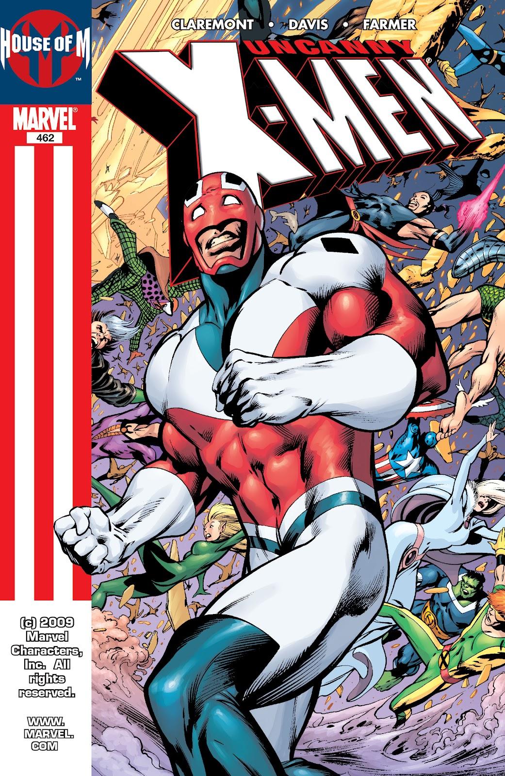 Uncanny X-Men (1963) 462 Page 1