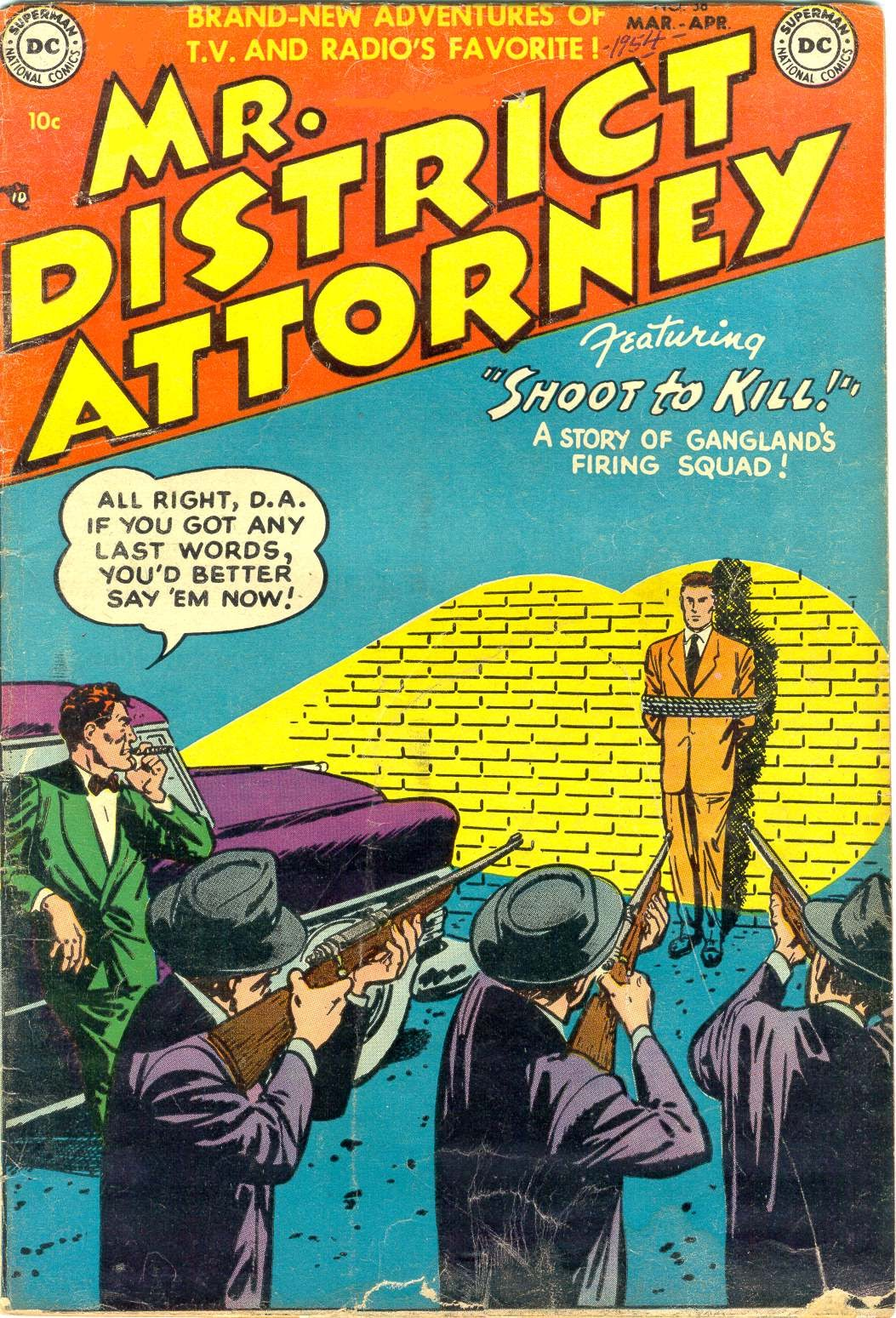 Mr. District Attorney issue 38 - Page 1