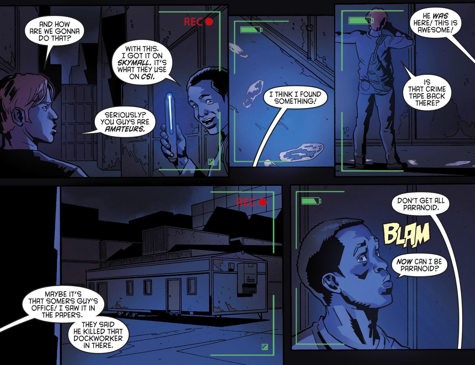 Read online Arrow [II] comic -  Issue #8 - 8