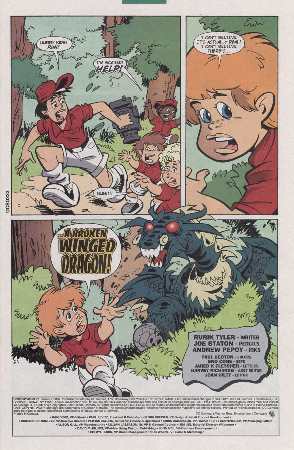 Read online Scooby-Doo (1997) comic -  Issue #78 - 3