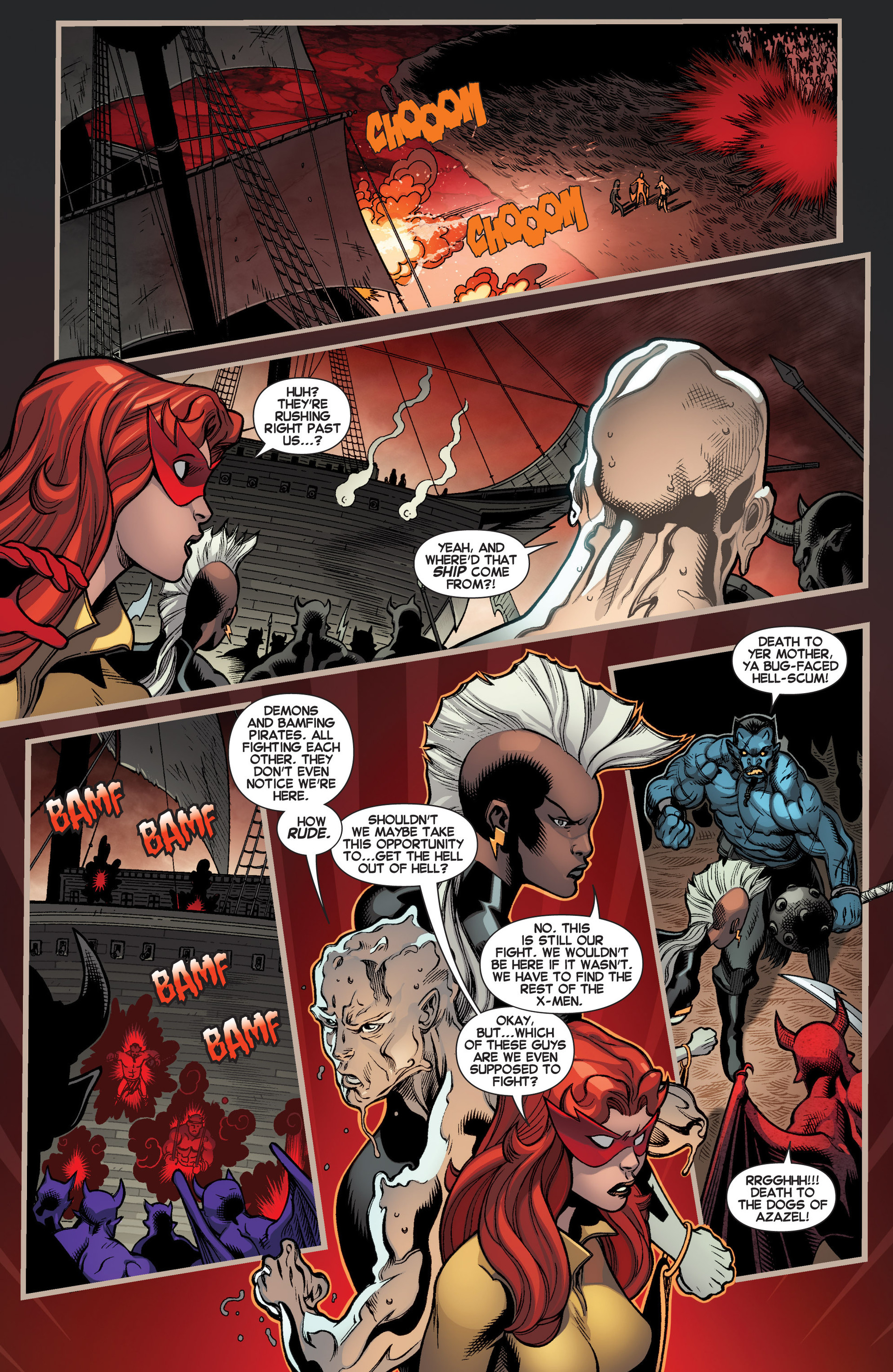 Read online Amazing X-Men (2014) comic -  Issue #2 - 5