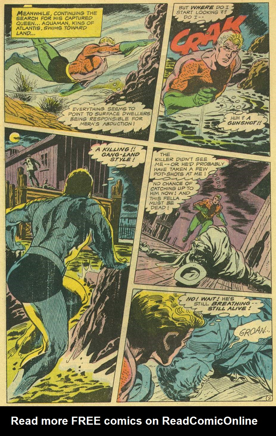 Aquaman (1962) Issue #44 #44 - English 4