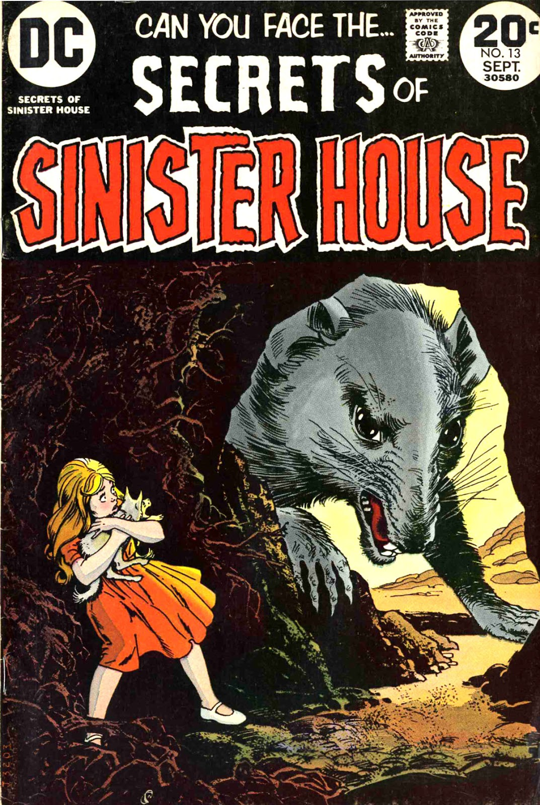 Secrets of Sinister House (1972) 13 Page 1