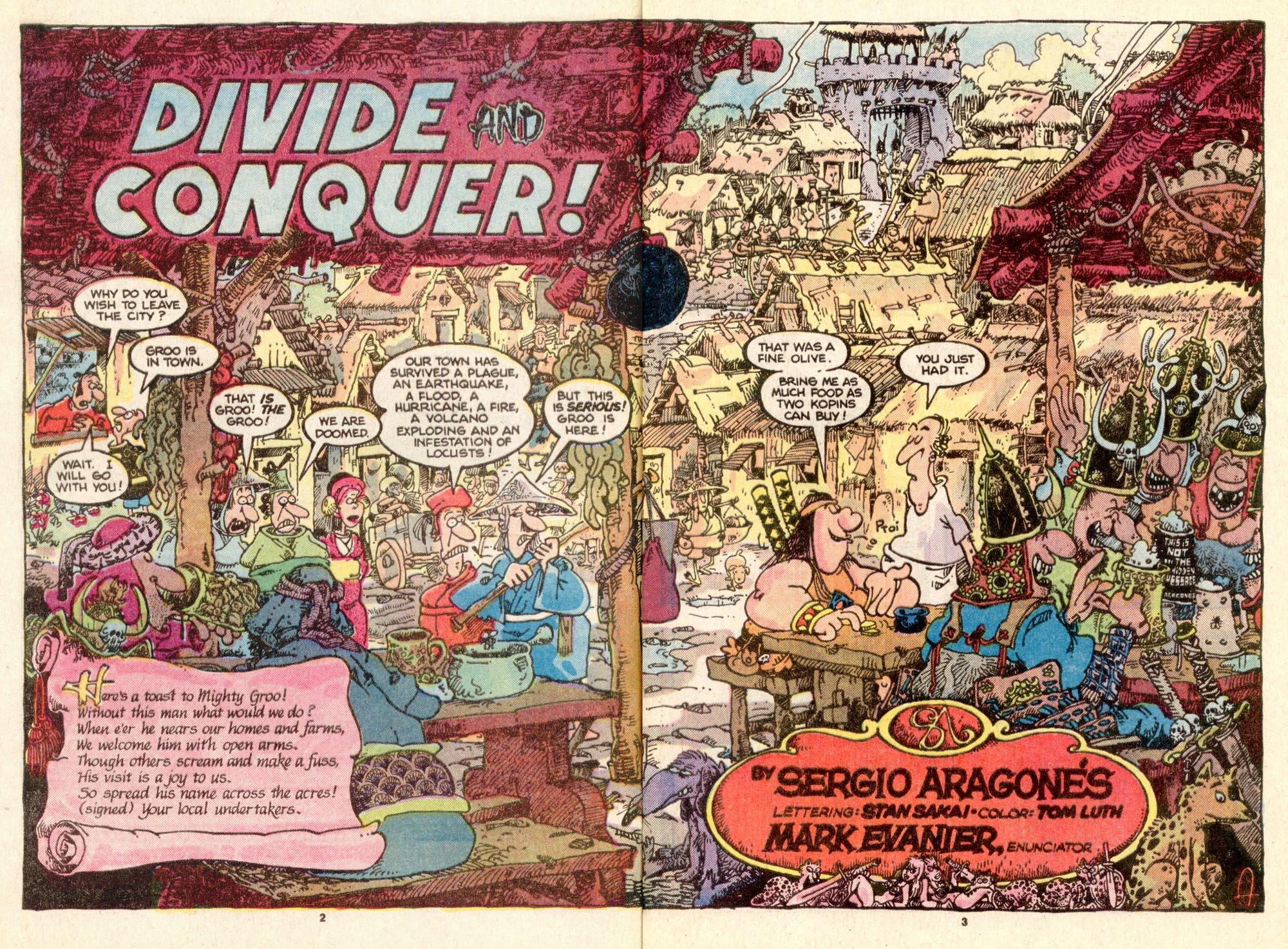Read online Sergio Aragonés Groo the Wanderer comic -  Issue #25 - 3