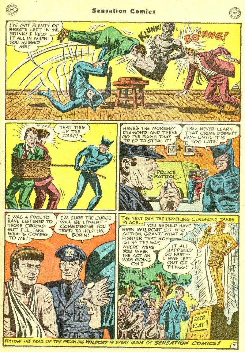 Read online Sensation (Mystery) Comics comic -  Issue #87 - 23