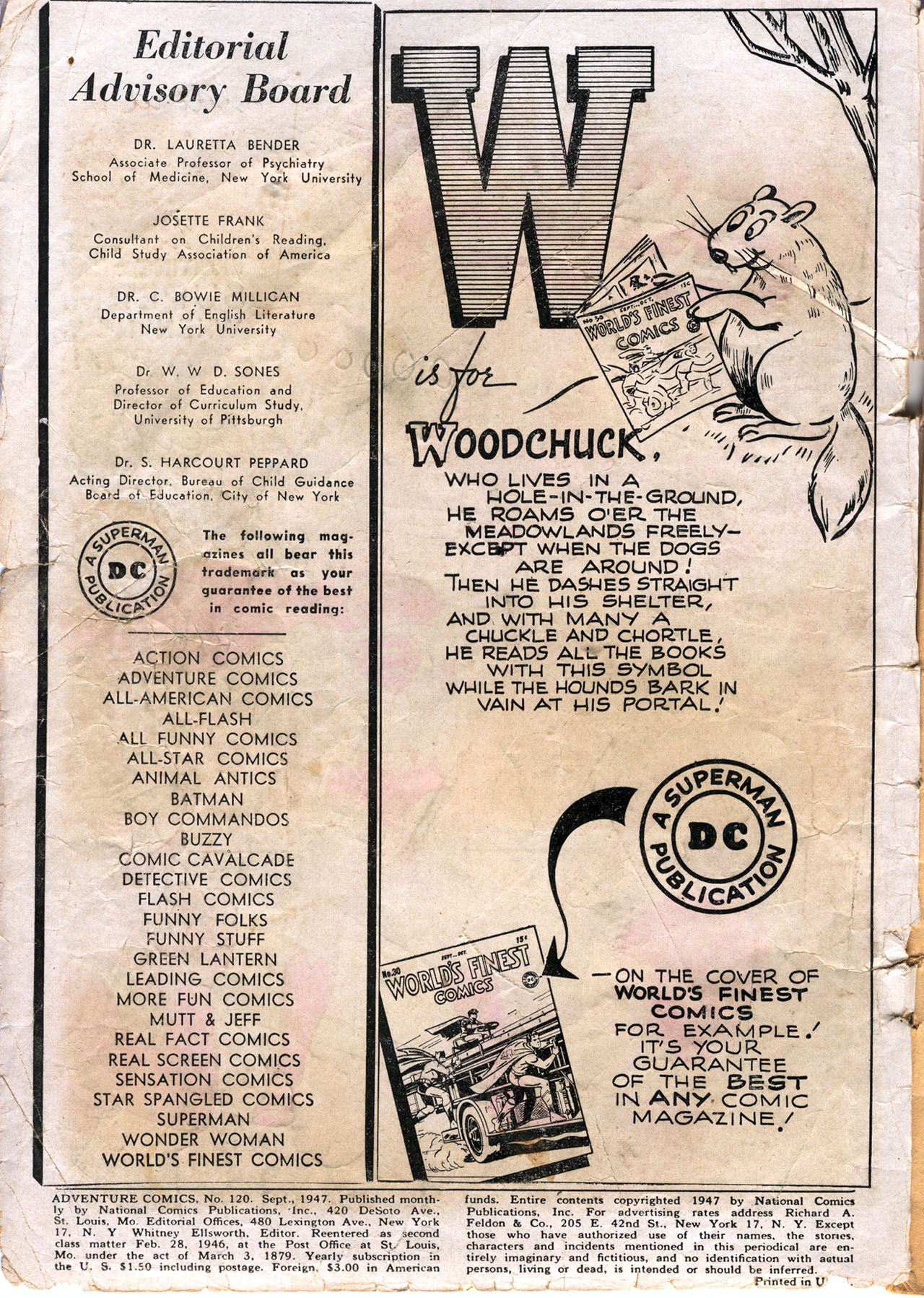 Read online Adventure Comics (1938) comic -  Issue #120 - 2