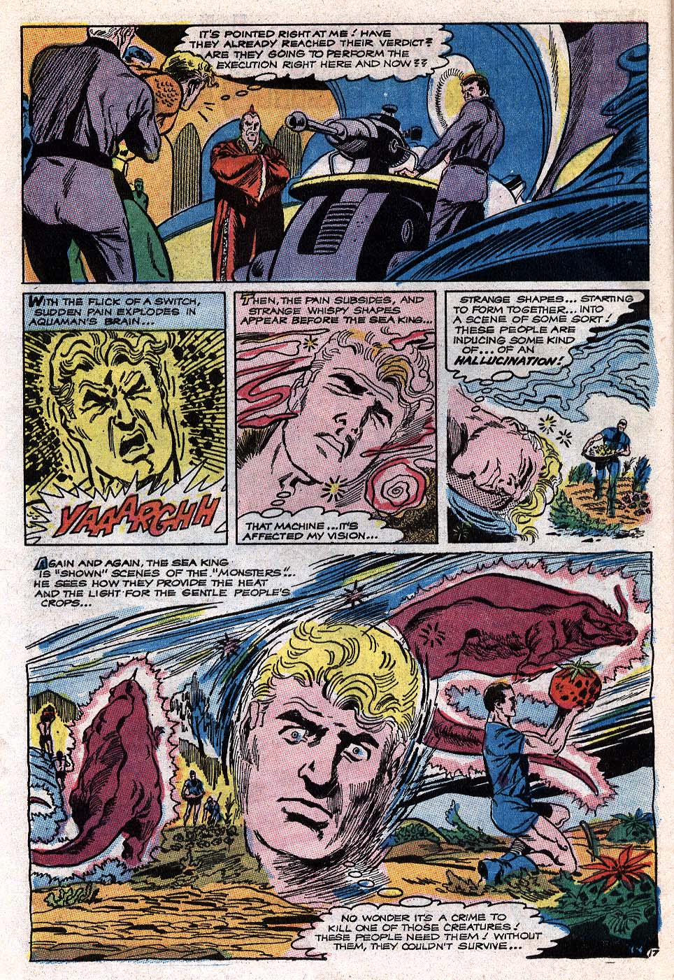 Read online Aquaman (1962) comic -  Issue #41 - 23