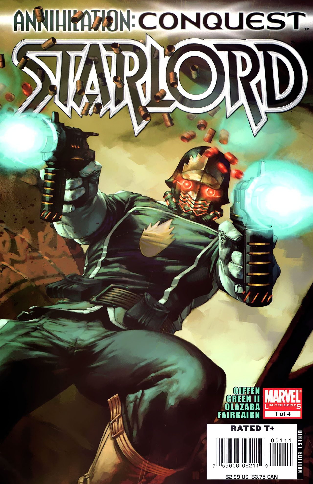 Read online Annihilation: Conquest - Starlord comic -  Issue #1 - 1
