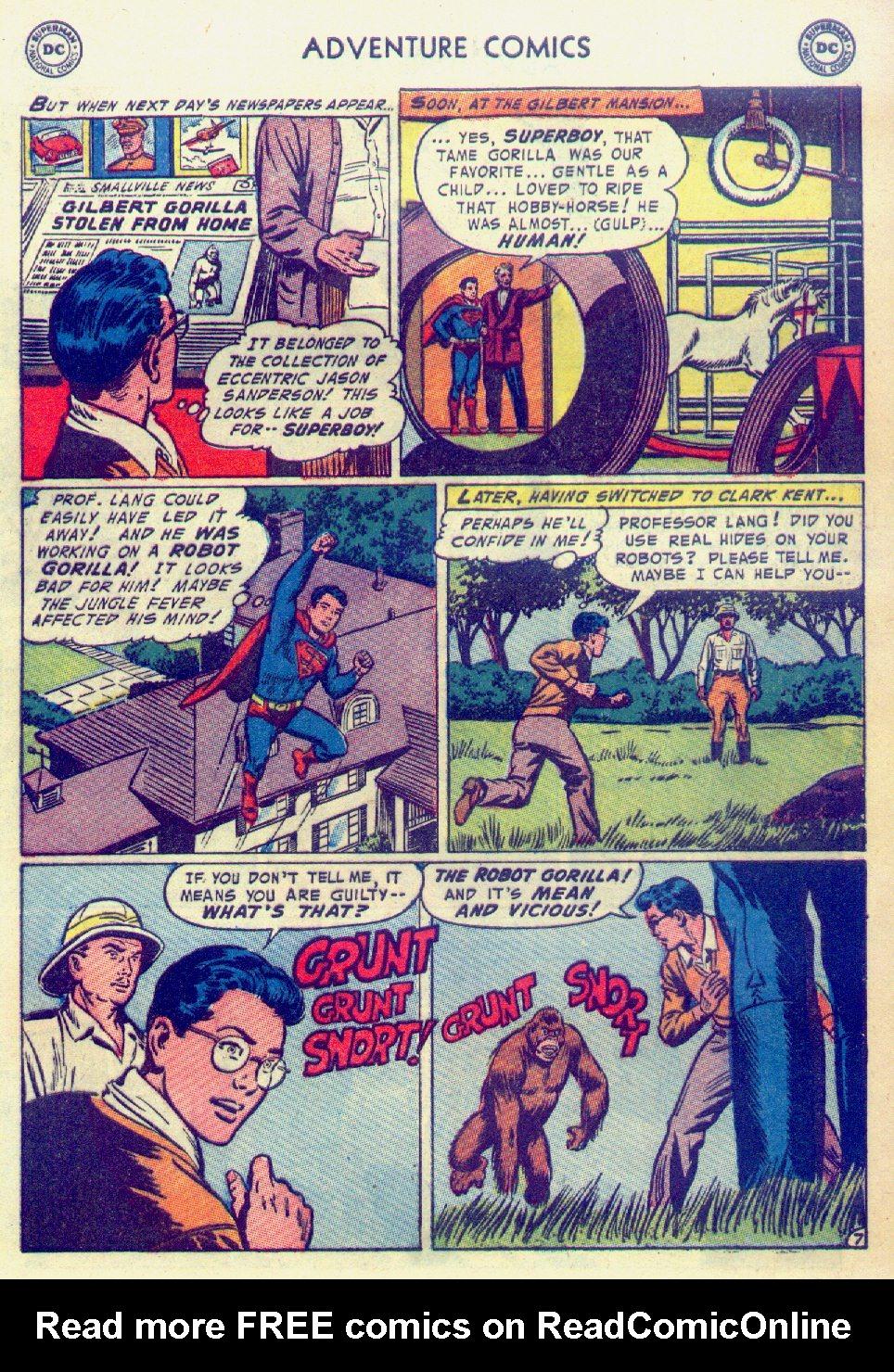 Read online Adventure Comics (1938) comic -  Issue #201 - 9