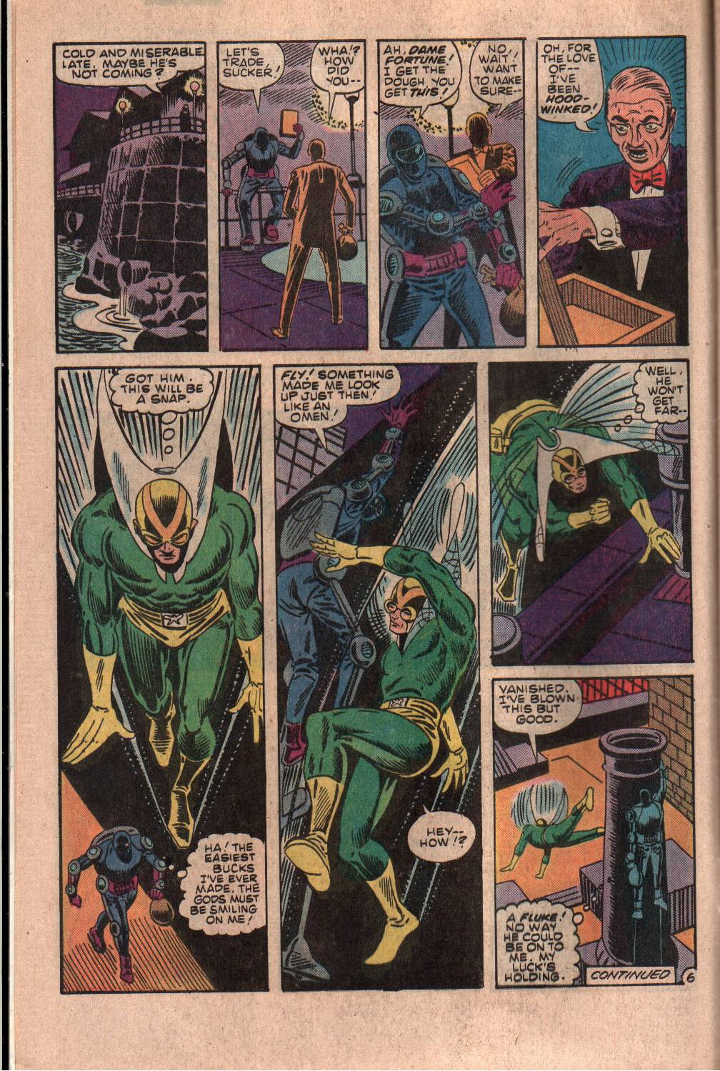 Read online The Fly (1983) comic -  Issue #7 - 7