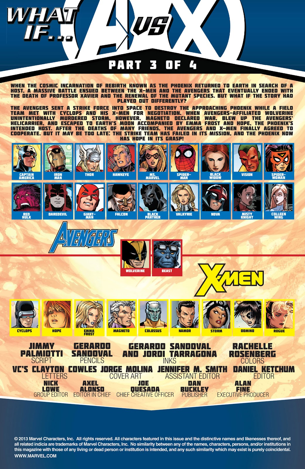 Read online What If? AvX comic -  Issue #3 - 2