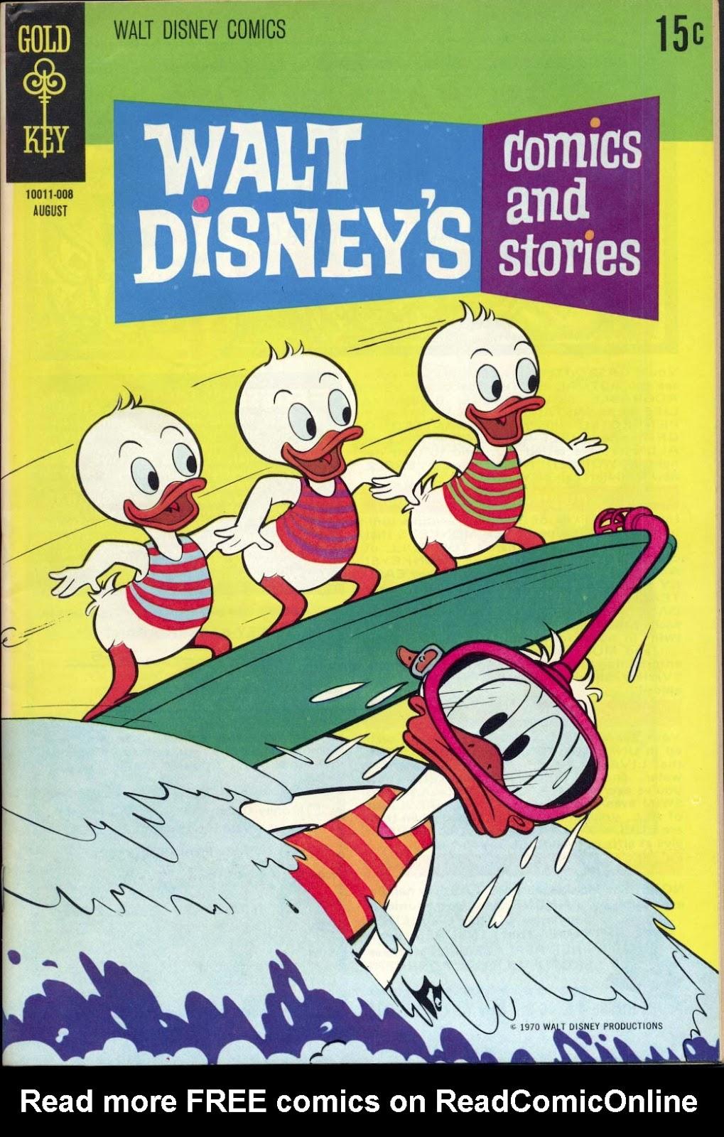Walt Disneys Comics and Stories 359 Page 1