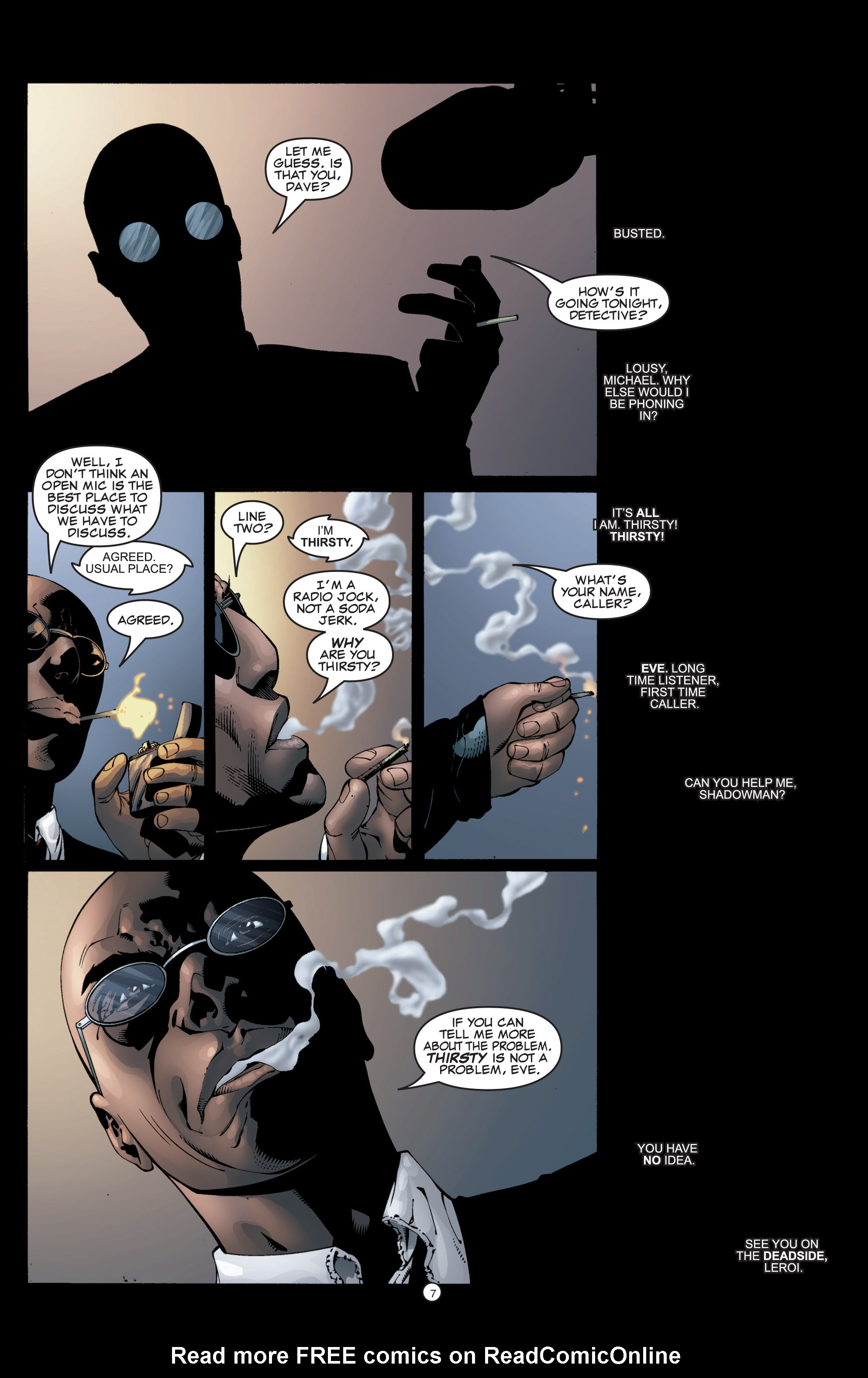 Read online Shadowman (1999) comic -  Issue #5 - 9