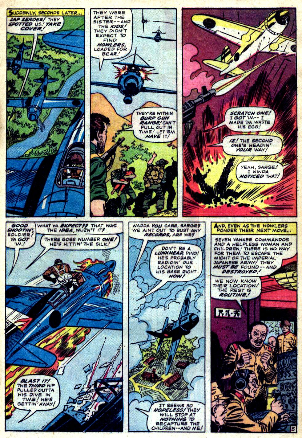 Read online Sgt. Fury comic -  Issue #23 - 9
