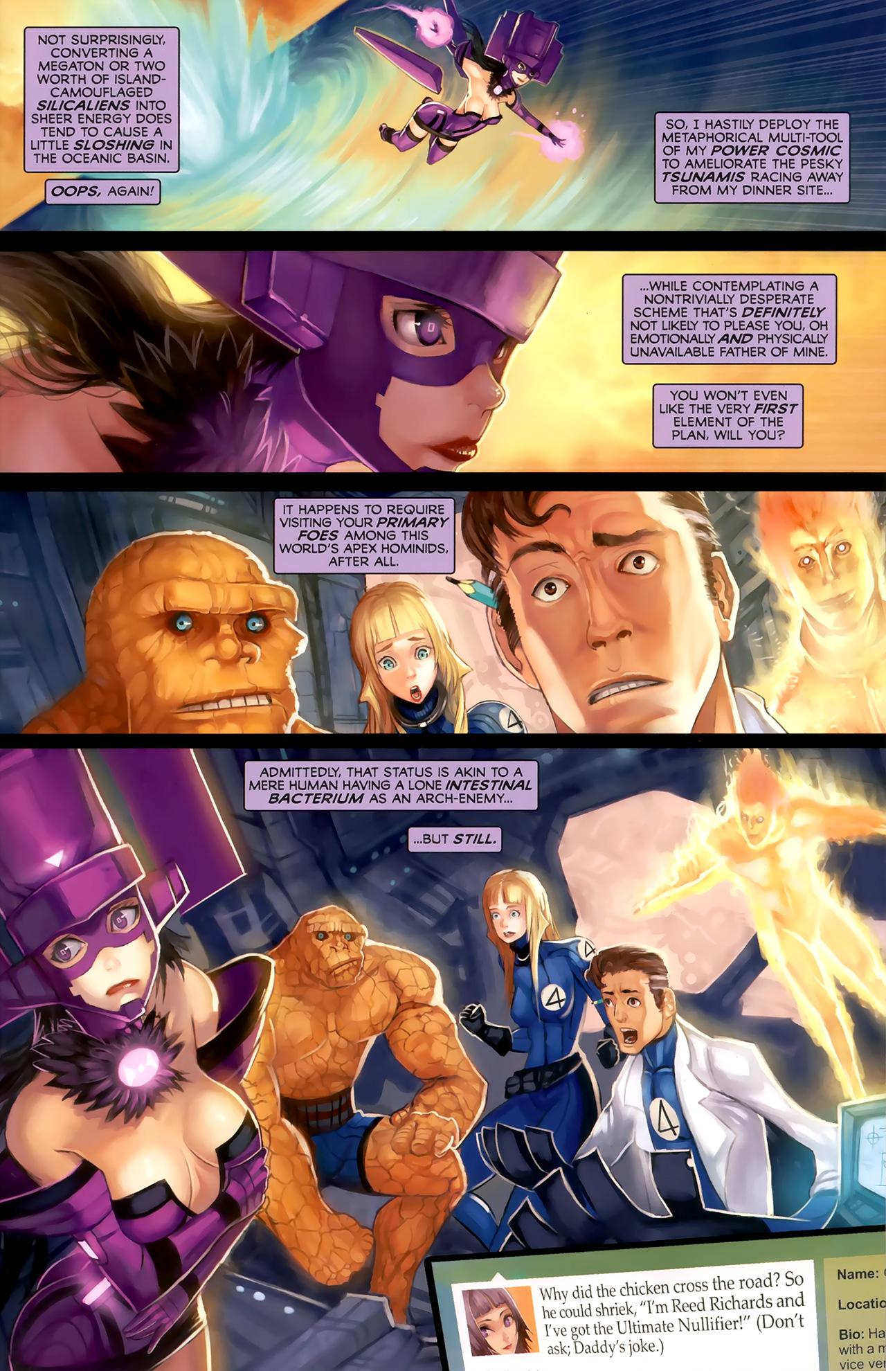 Read online Galacta: Daughter of Galactus comic -  Issue # Full - 24