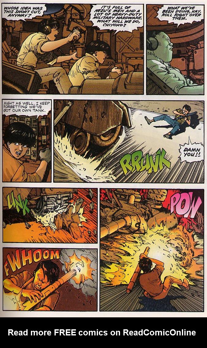 Read online Akira comic -  Issue #15 - 32