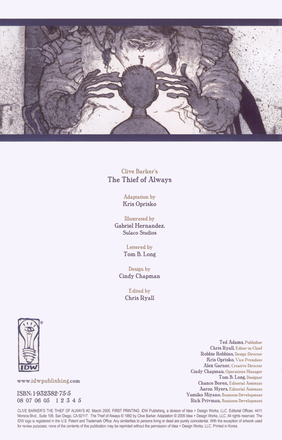 Read online Clive Barker's The Thief Of Always comic -  Issue #2 - 3