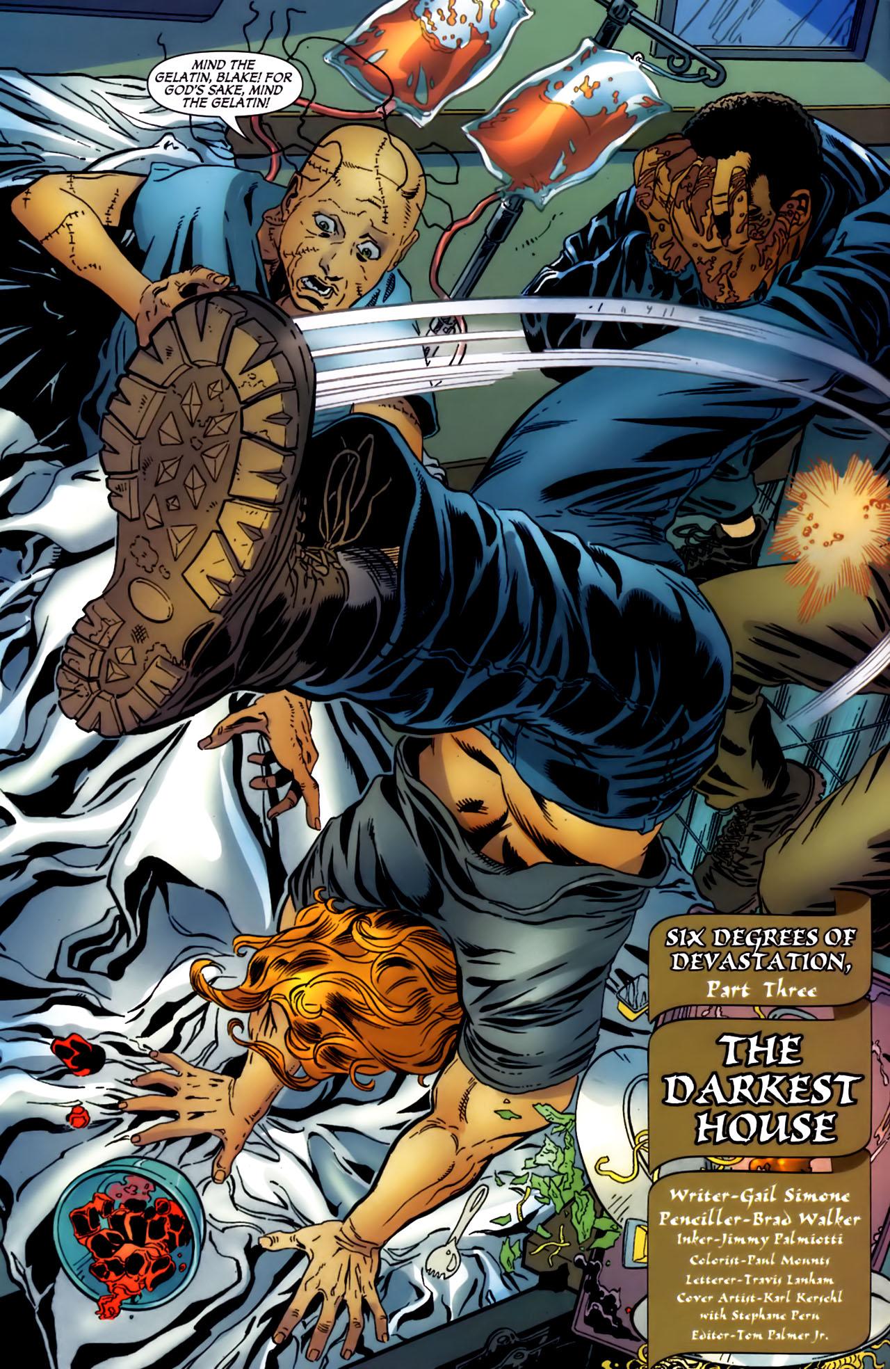 Read online Secret Six (2006) comic -  Issue #3 - 5