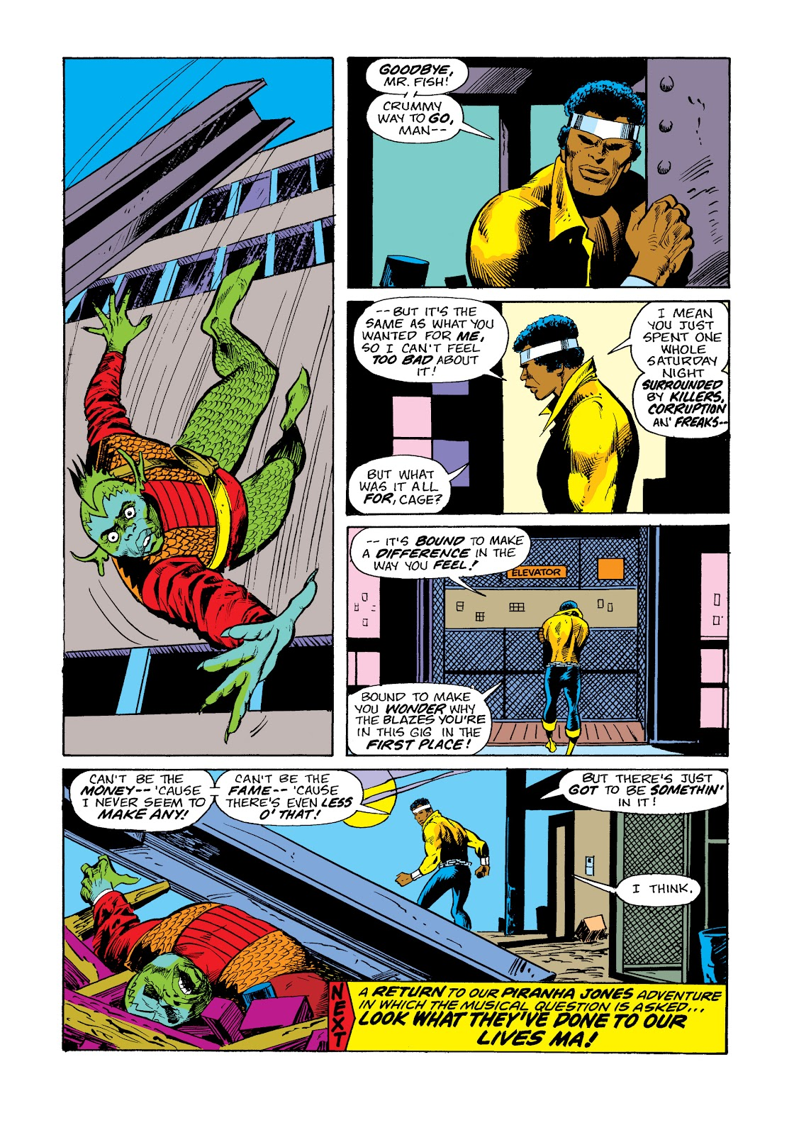 Read online Marvel Masterworks: Luke Cage, Power Man comic -  Issue # TPB 2 (Part 3) - 57