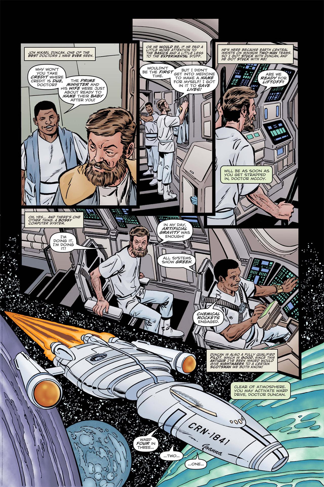 Read online Star Trek: Leonard McCoy, Frontier Doctor comic -  Issue #1 - 7