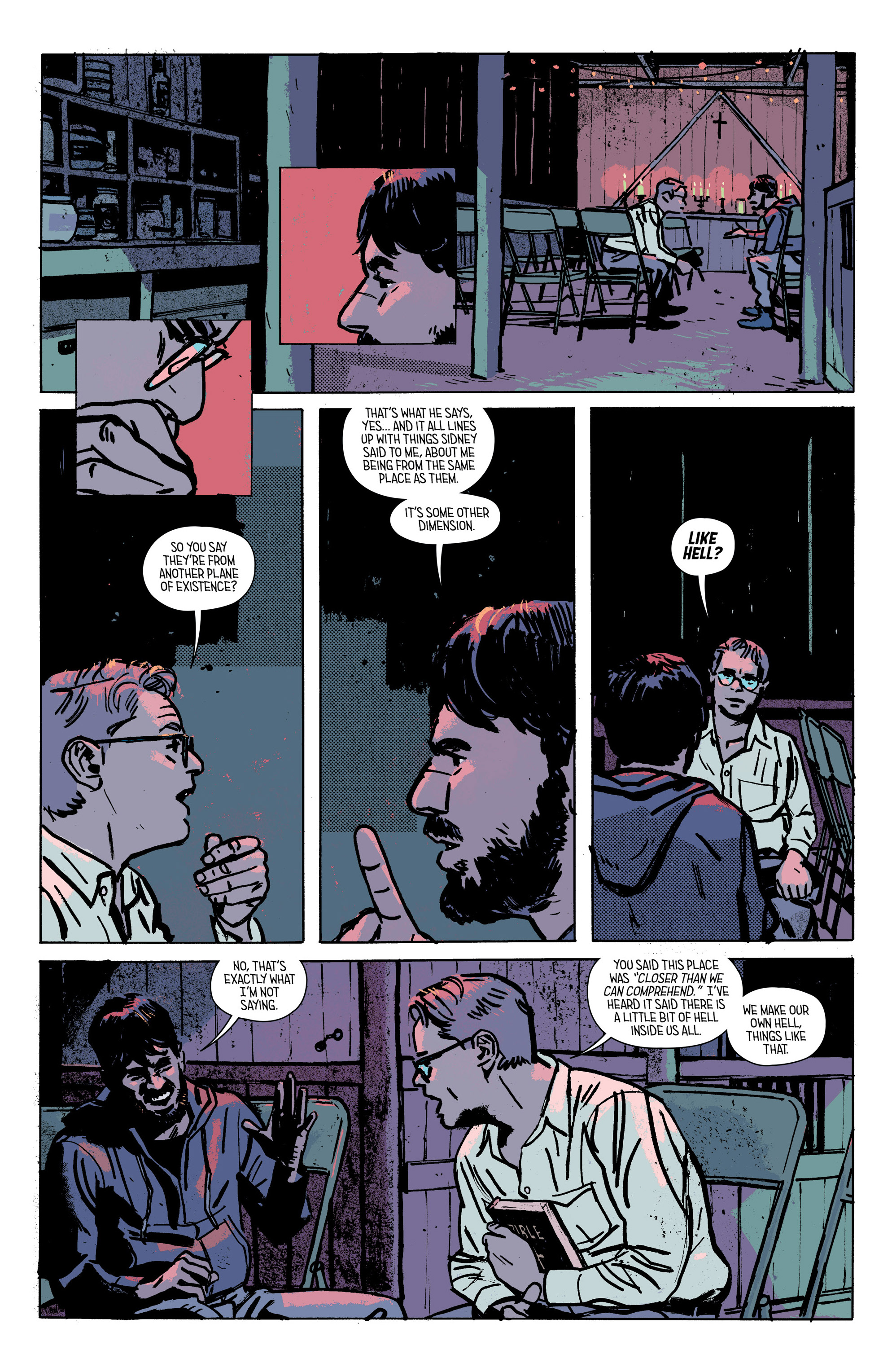 Read online Outcast by Kirkman & Azaceta comic -  Issue #28 - 18