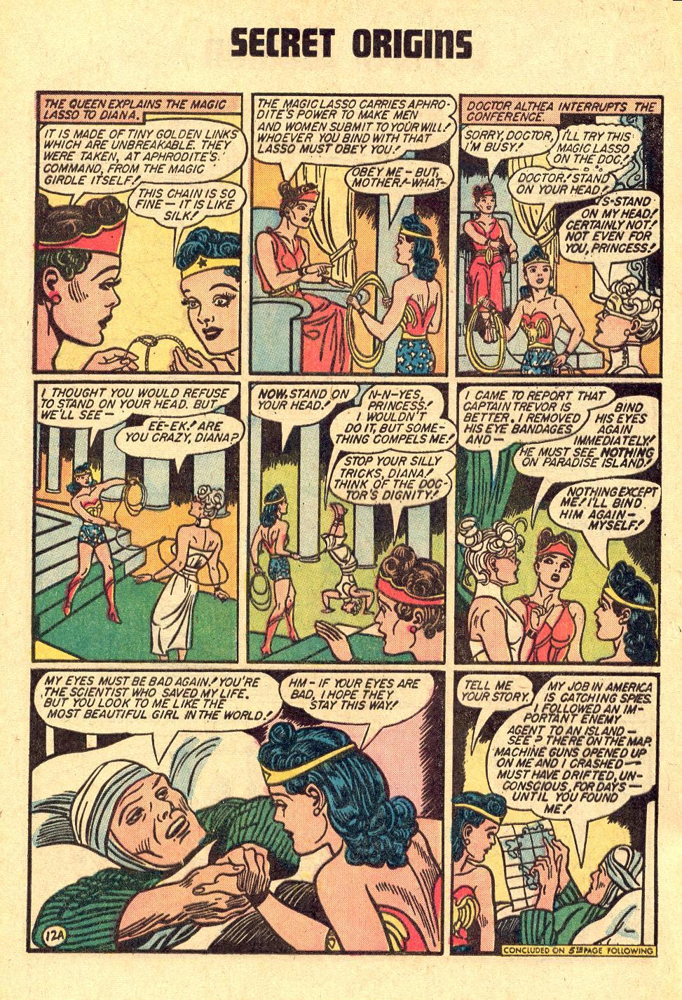Read online Secret Origins (1973) comic -  Issue #3 - 16