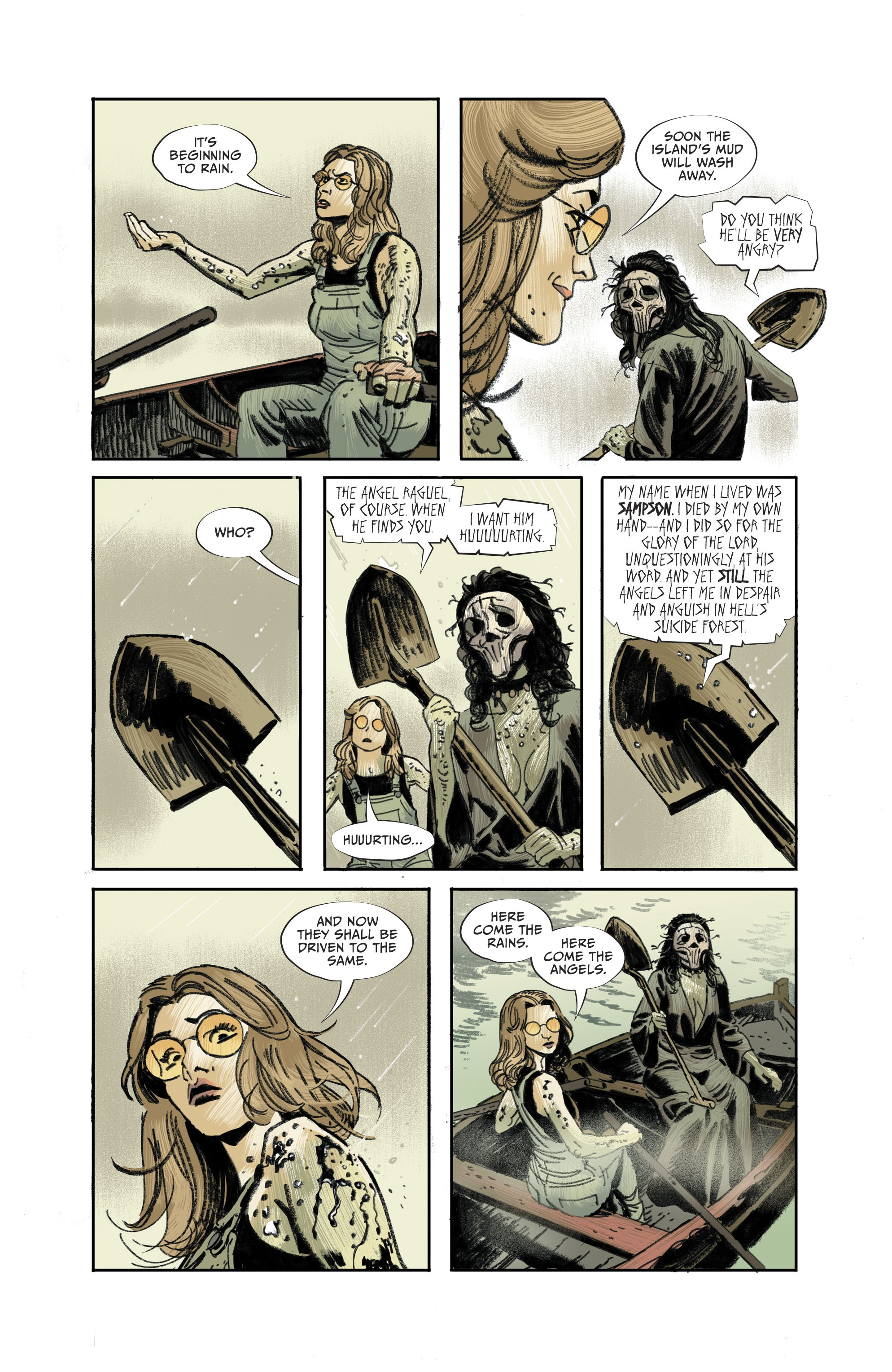 Read online Lucifer (2018) comic -  Issue #11 - 20