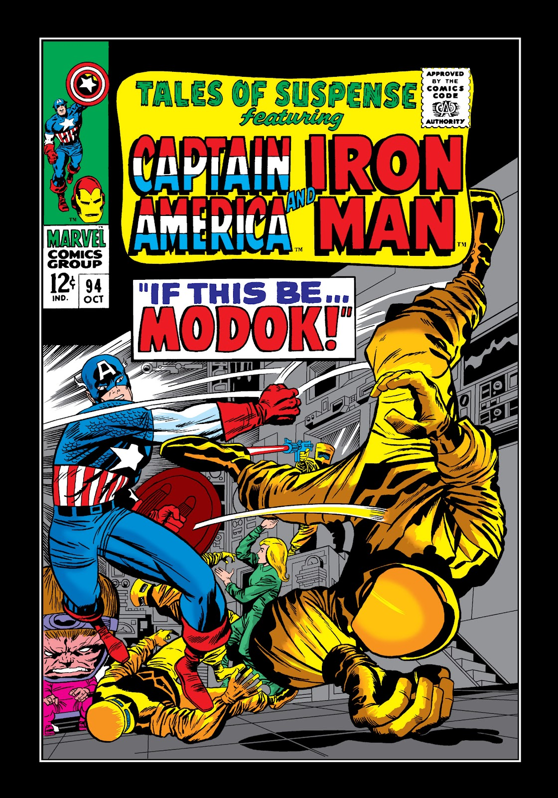 Read online Marvel Masterworks: The Invincible Iron Man comic -  Issue # TPB 4 (Part 2) - 36