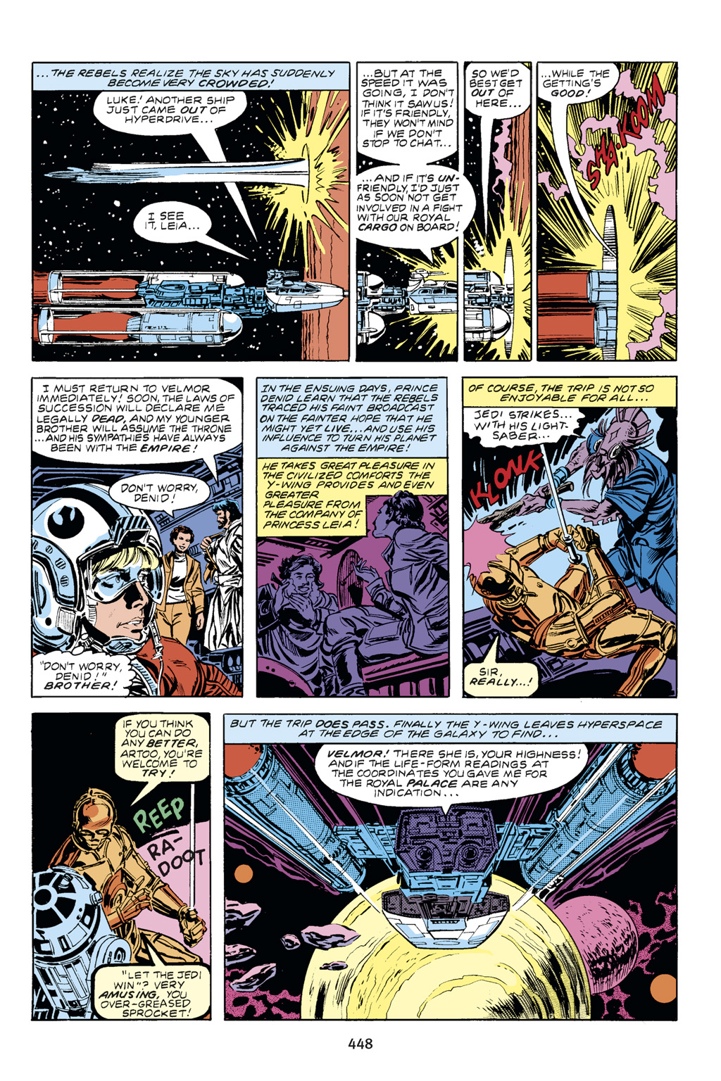 Read online Star Wars Omnibus comic -  Issue # Vol. 14 - 441